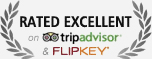 Rated Excellent on Trip Adviser and Flip Key
