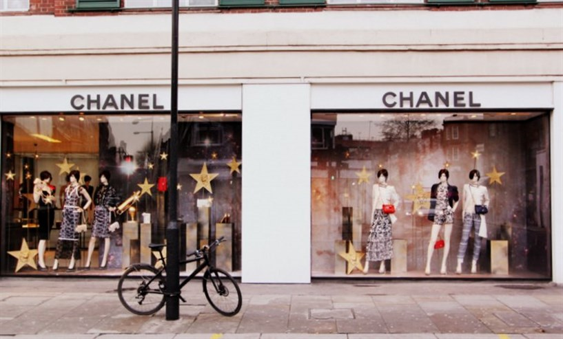 Christmas Decorations at Chanel, South Kensington