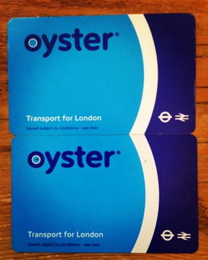 Oyster Cards at Ivy Lettings