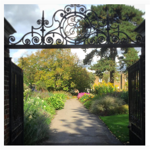 The Secret Garden Kew Gardens. Credit: Kew Gardens Instagram